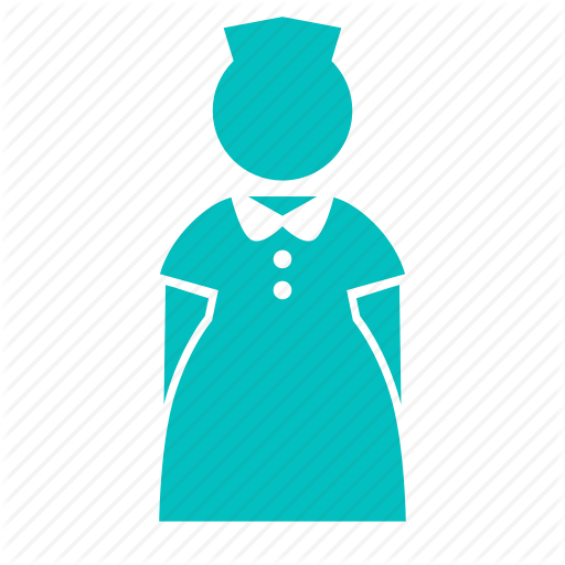 Midwife, Nurse, Staff, Woman Icon