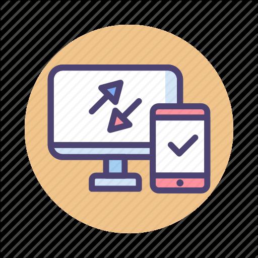 Data Connection, Data Migration, Data Transfer Icon