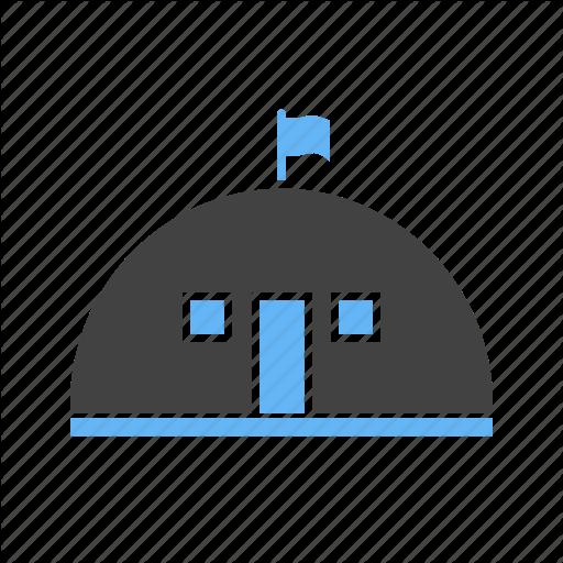 Base, C House, Military Icon
