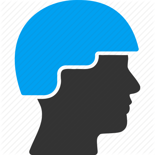 Face, Guard, Helmet, Military, Police, Profile, Soldier Head Icon