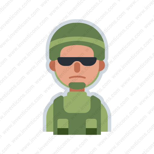 Download Avatar Military,avatar,military Icon Inventicons