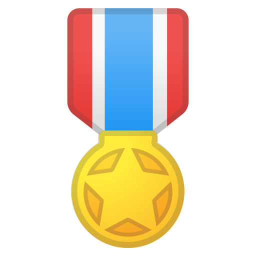 Military, Medal Icon Free Of Noto Emoji Activities