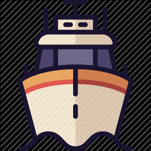 Boat, Coast Guard, Cruise Ship, Military Ship, Ship Icon