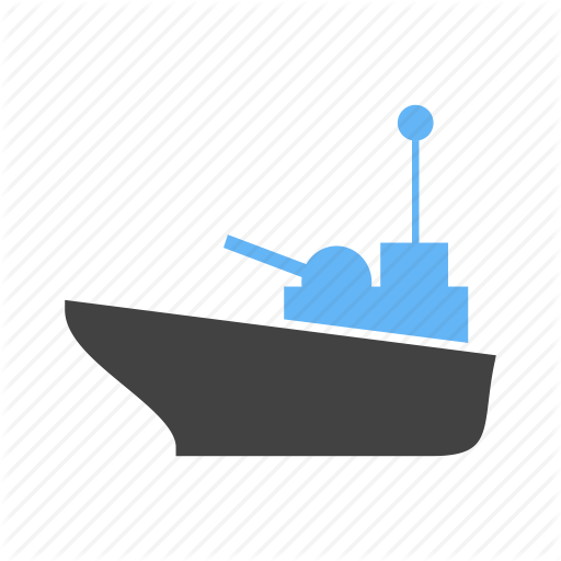Military, Navy, Ship, Vessel Icon