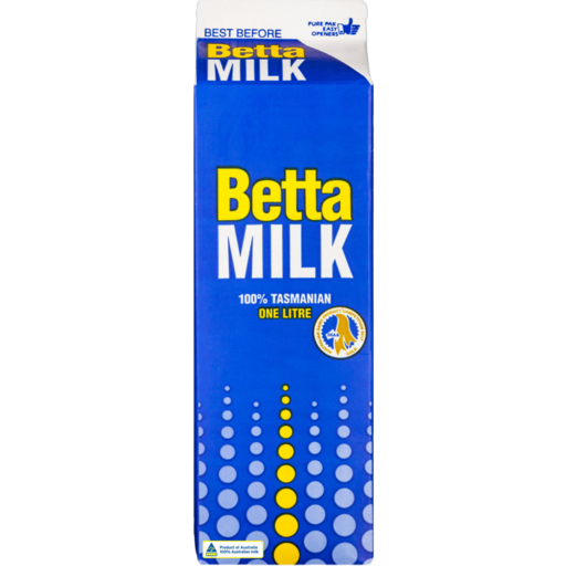 Betta Milk Carton Litre