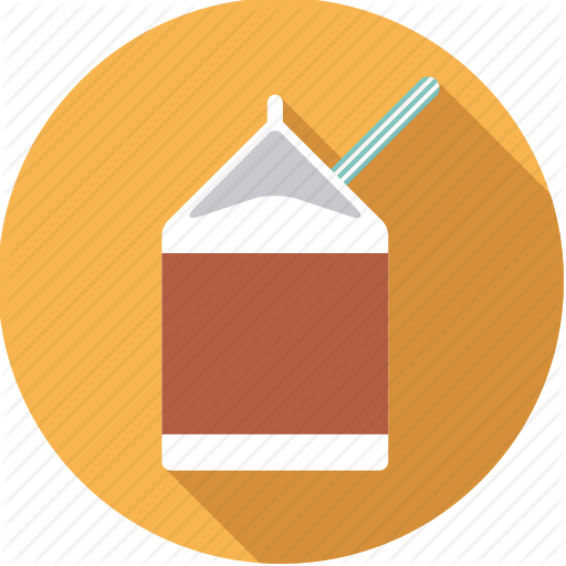 Beverage, Box, Carton, Chocolate, Dairy, Drink, Milk Icon