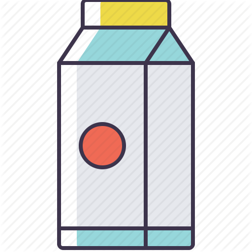Carton, Milk Icon