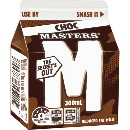 Masters Chocolate Milk Carton
