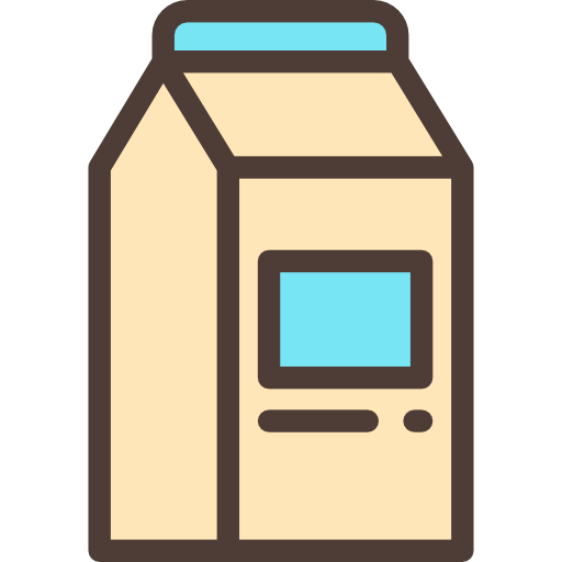 Breakfast, Milk, Healthy Food, Food And Restaurant, Drink, Food Icon