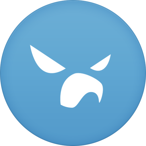 Falcon Pro For Twitter Icon Circle Addon Iconset