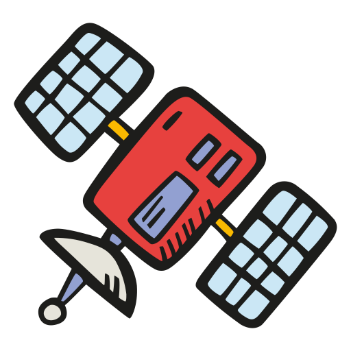 Satellite Icon Free Space Iconset Good Stuff No Nonsense