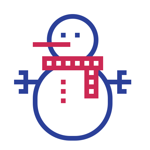 Snowman, Christmas Icon Free Of Science And Fiction
