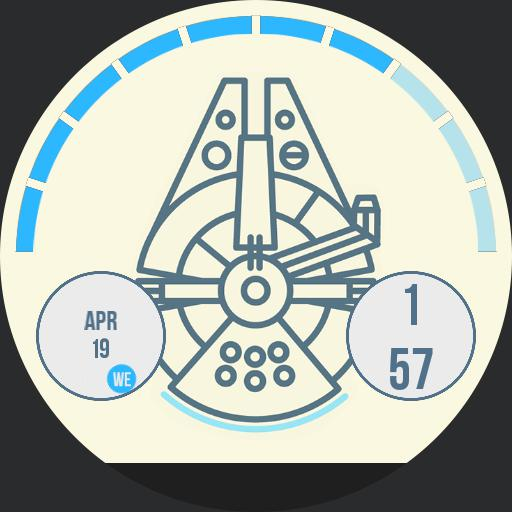 The Millennium Falcon For Moto