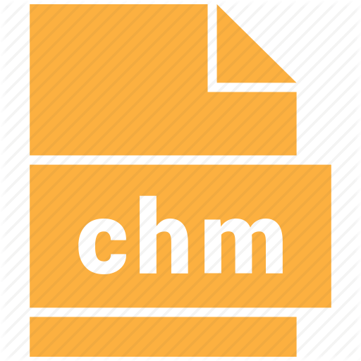 Chm, Document Format, Mime Type Icon
