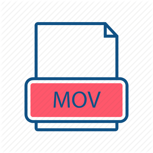 Document, File, Format, Mime Type, Mov, Video Icon