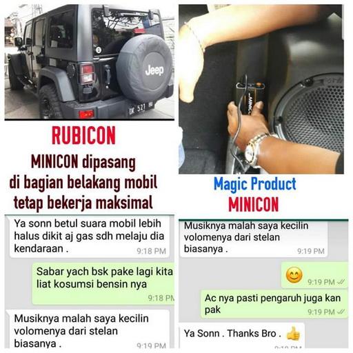 Pusat Minicon Medan, Jual Alat Penghemat Bbm Mobil Medan