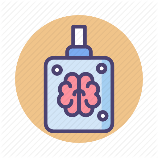 Brain, Brain Jar, Mind, Mindset Icon