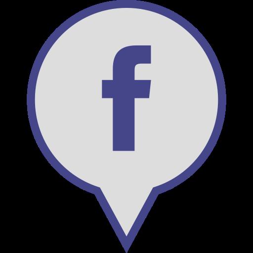 Media, Logo, Pin, Facebook, Social Icon