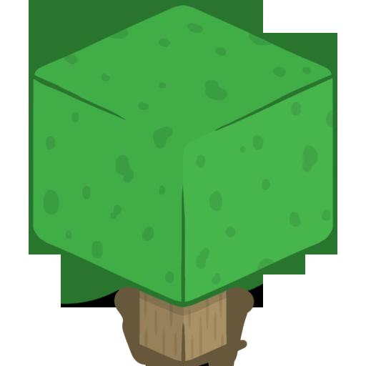 D Tree Icon Minecraft Iconset