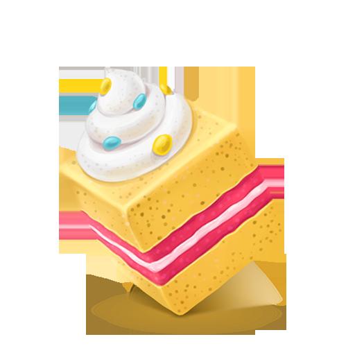 Box Cake Sweet Icon Cubes Art Iconset Klukeart