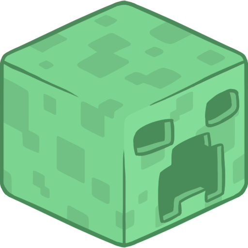 D Creeper Icon Minecraft Iconset