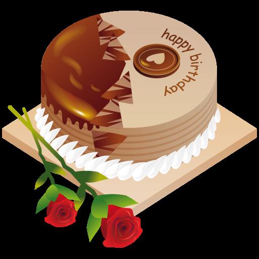 Happy Birthday Cake Icon Iconshow