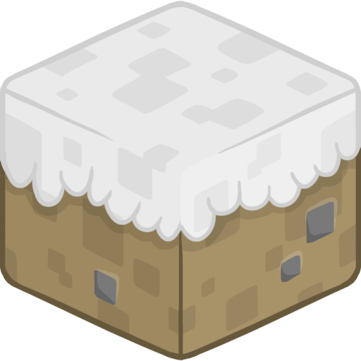 D Snow Icon Minecraft Iconset