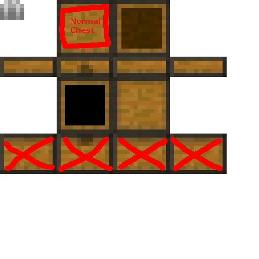 Mc Trapped Chest Looks Like Regular Chest In Inventory