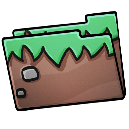 Folder, Grass Icon