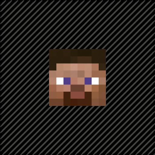 Game, Head, Man, Minecraft, Pixels Icon
