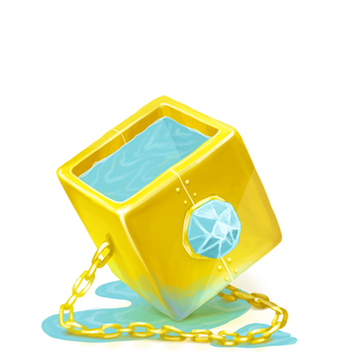 Box Water Diamond Icon Iconshow