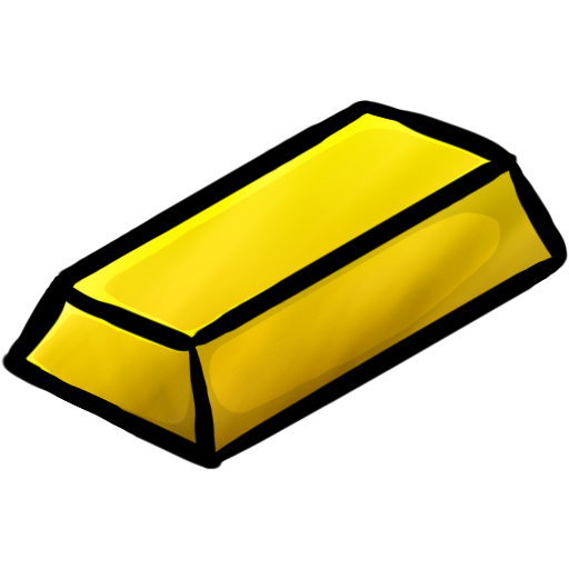 Gold Ingot Icon Minecraft Iconset