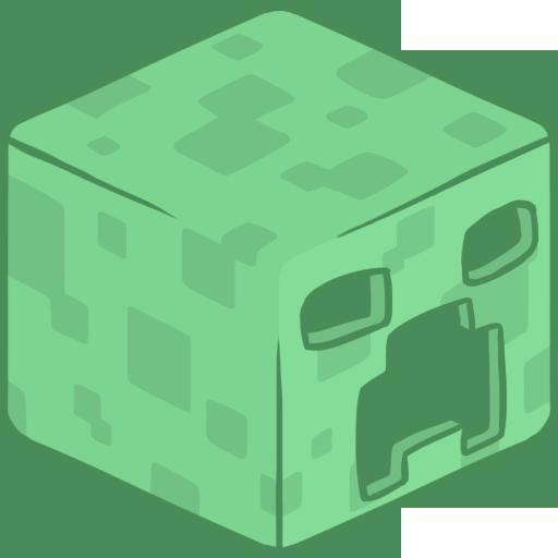 D Creeper Icon Minecraft Iconset