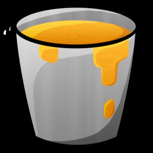 Lava, Bucket Icon