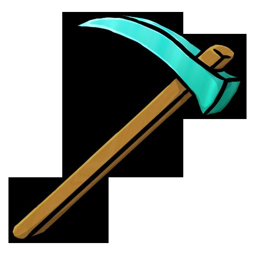 Diamond Hoe Icon Minecraft Iconset