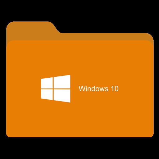 Folder Ligth Orange W Icon