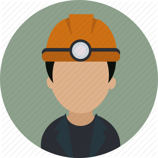 Avatar, Human, Industrial, Labour, Mine Worker, Miner, Worker Icon