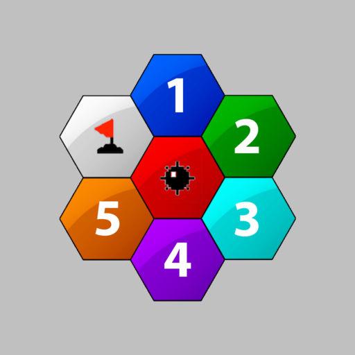 Mine Sweeper Hexagon