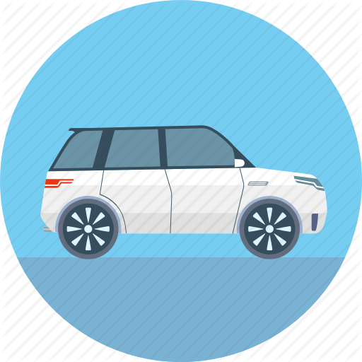 Car, Jeep, Range Rover, Suv Icon