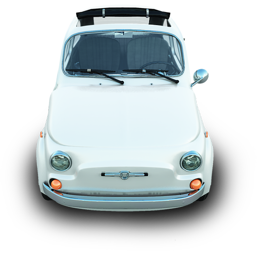 Fiat Icon Silver Cars Iconset Archigraphs