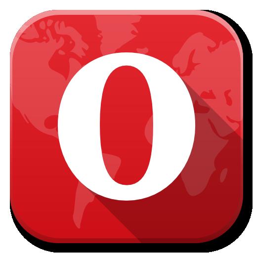Apps Opera Icon Flatwoken Iconset Alecive