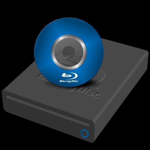 Blu Ray Drive Mini Icon