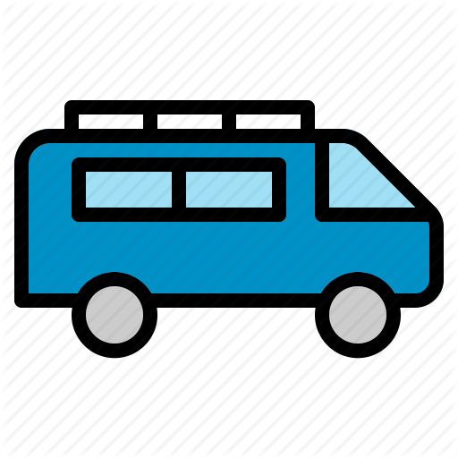 Delivery, Minivan, Transport, Transportation, Van, Vehicle Icon