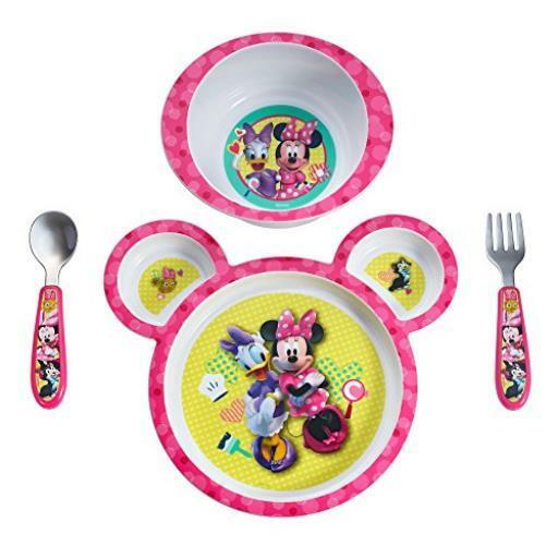 The First Years Disney Baby Minnie Mouse Piece Feeding Set Bpa
