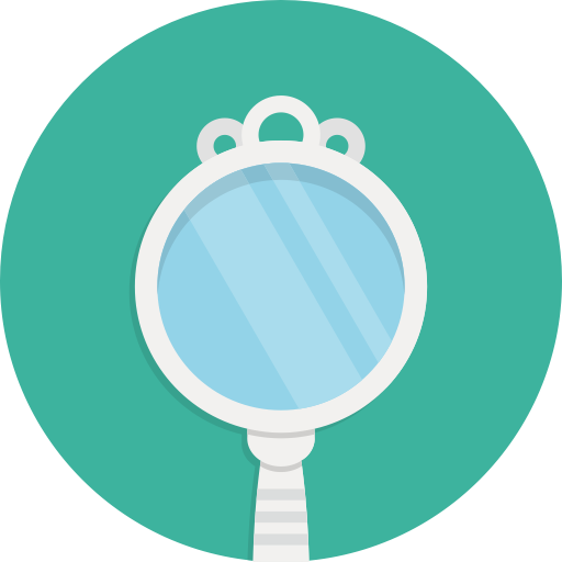 Mirror, Mirror Table, Pedestal Mirror Icon With Png And Vector