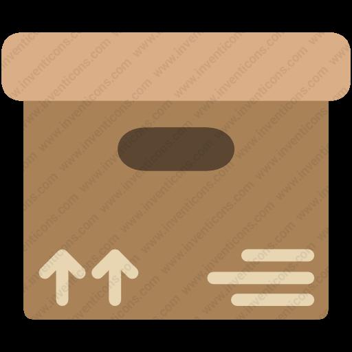 Download Cargo,cargo,box,closedboxdelivery Icon Inventicons
