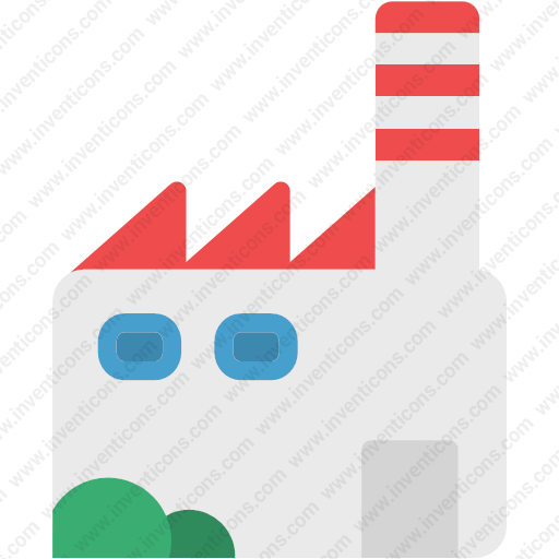 Download Industry,workbuidling,mill,factory Icon Inventicons