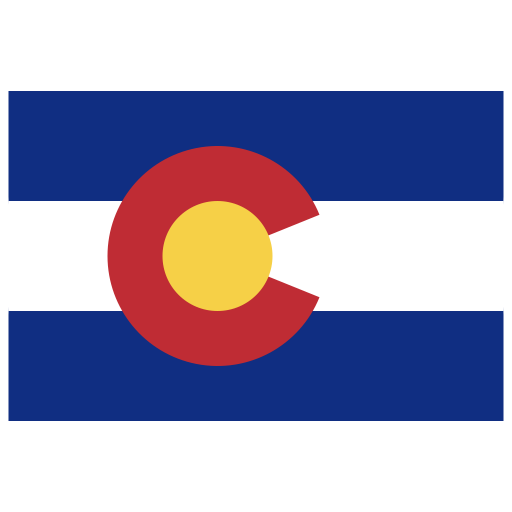 Us Co Colorado Flag Icon