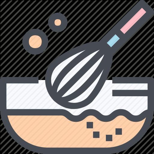 Bakery, Cooking, Flour, Food, Kitchen, Mix Icon