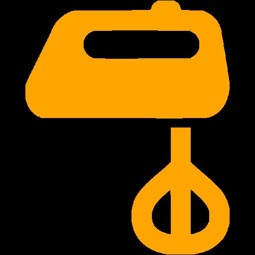 Orange Mixer Icon